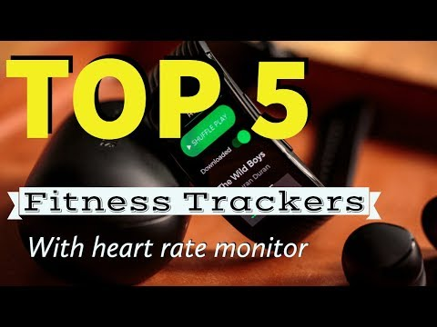 Best Fitness Tracker with Heart Rate Monitor 2018