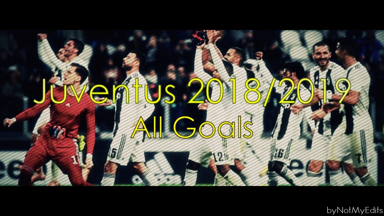 Juventus 2018/2019 • All Goals With Italian Commentary