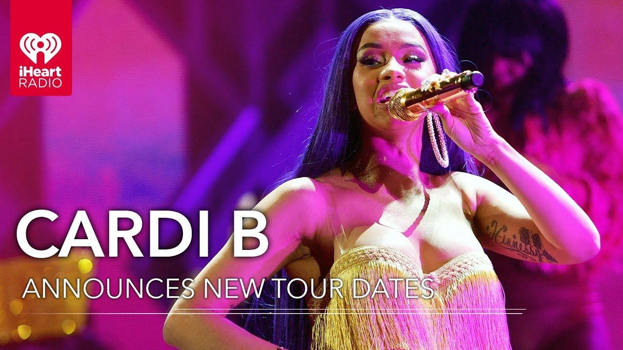 Cardi B Announces New Tour Dates Fast Facts