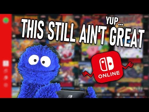 One Year Later and Switch Online Still Kinda Stinks