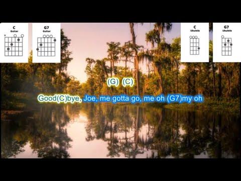 Jambalaya By Hank Williams Play Along With Scrolling Guitar Chords And Lyrics