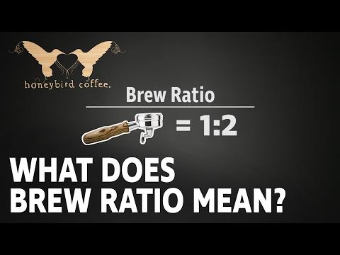 BARISTA TRAINING SERIES - Part 5 - Brew Ratio Explained