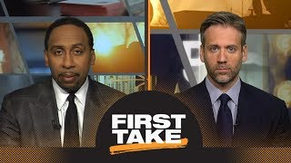 Stephen A. and Max react to Eagles beating Vikings in NFC Championship | First Take | ESPN