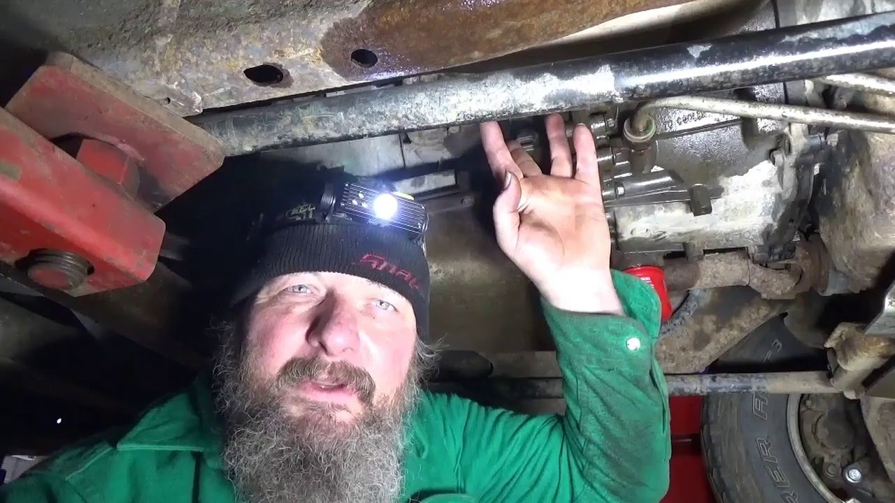 Allison Tranny Dipstick Filler Tube Replacement On A  Duramax Youtube