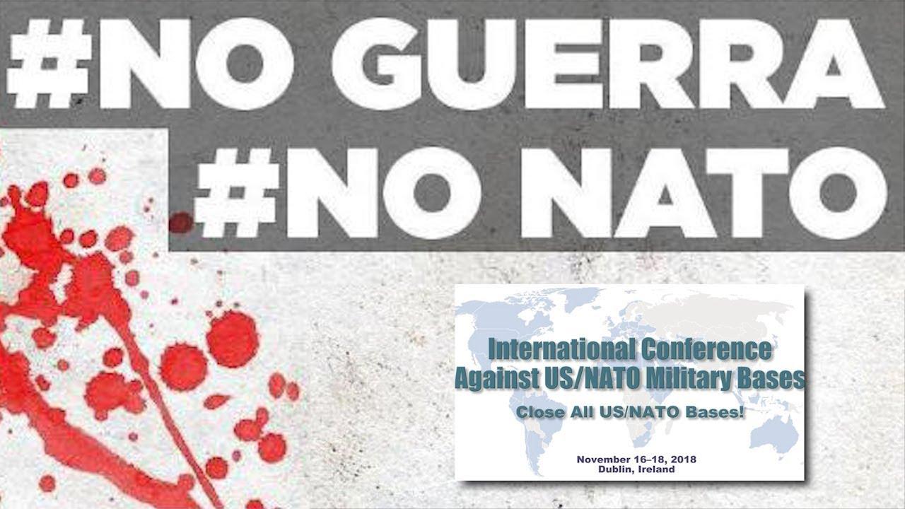 Il Comitato No Guerra No Nato alla Prima Conferenza Internazionale Contro le Basi Militari USA/NATO