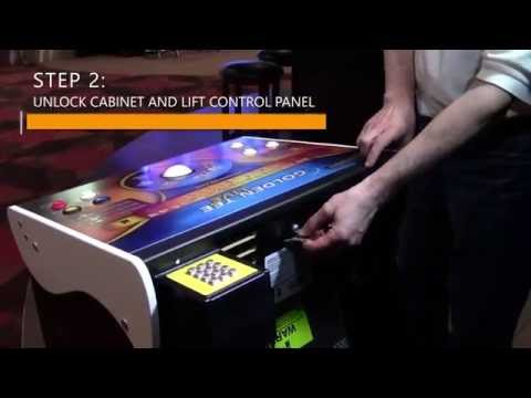 Golden Tee Tech Video: How to Remove a Trackball