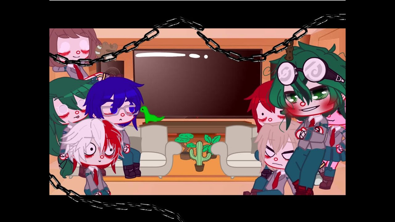 Download []Some Of Class 1-A React To New Student Deku[]New Student Deku Au[]A Few Manga Spoilers[]