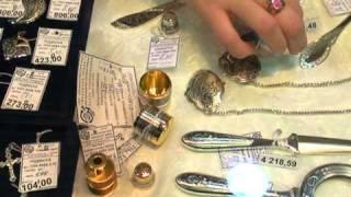 Изделия из серебра 925 проба из города Великий Устюг
