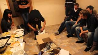 Большой подарок на День Рождение из 16 коробок за 7 минут =)