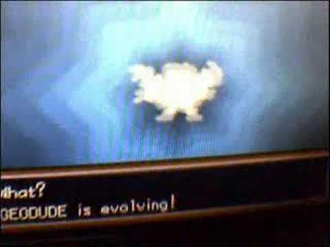 Shiny Geodude Evolving
