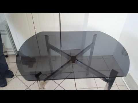 Norwex Linge à fenêtre ( table en verre trempé )
