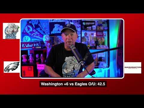 Philadelphia Eagles vs Washington Football Team NFL Pick and Prediction 9/13/20 Week 1 NFL Betting
