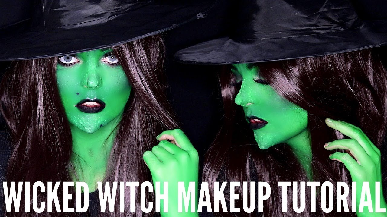 Wicked witch halloween makeup tutorial lacey jane youtube wicked witch halloween makeup tutorial lacey jane baditri Images