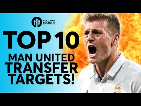 Top 10 Manchester United Transfer Targets | Kroos, Griezmann and Lukaku!