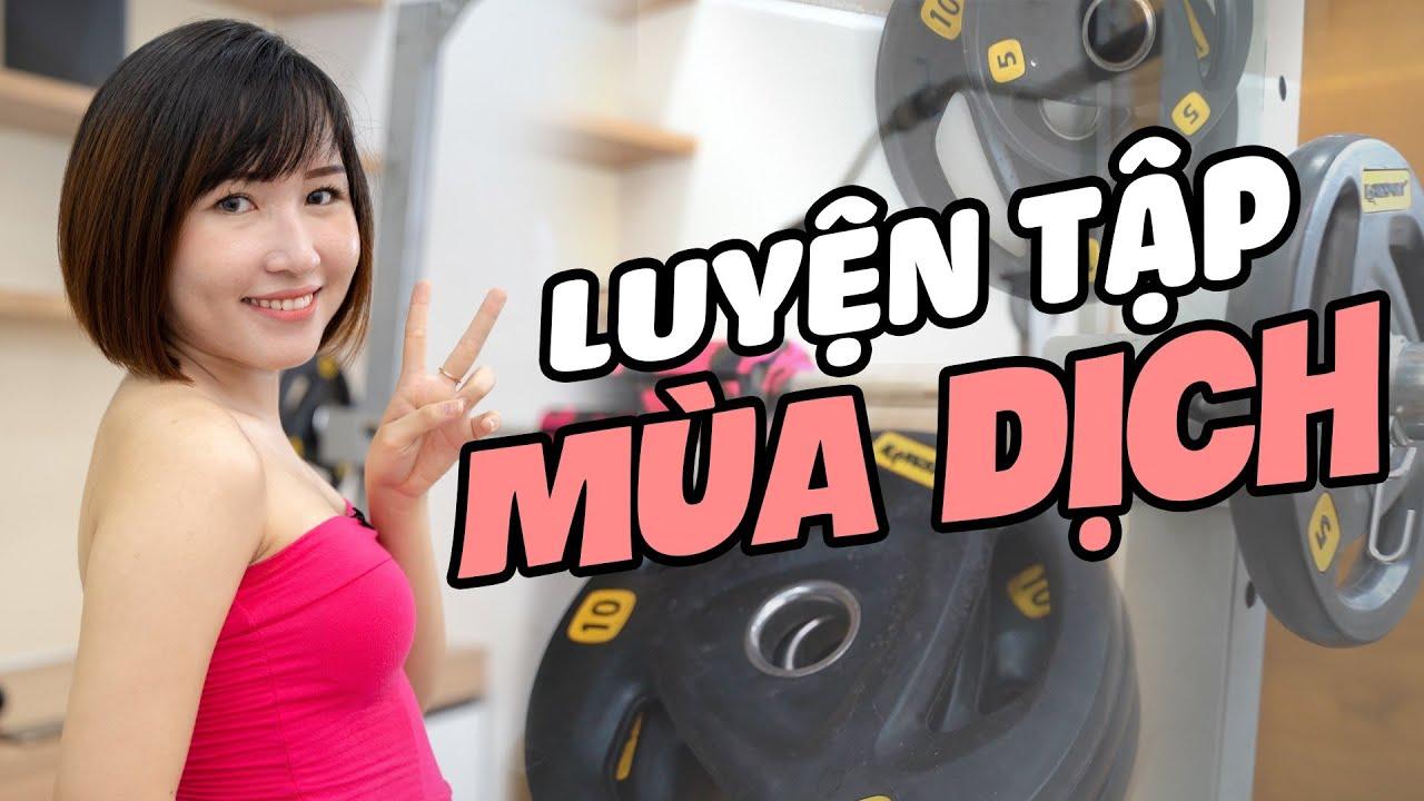 Phòng Gym tại nhà của Uyên có gì ?