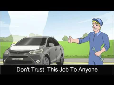 Customizable Auto Repair Commercial Promo Video