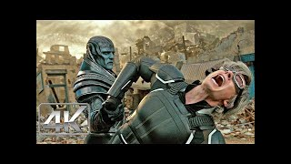 Quicksilver Vs Apocalipsis | Español Latino | X-Men Apocalipsis (4K-HD)