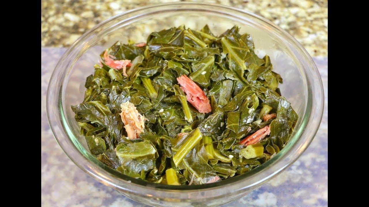 Soul Food Collard Greens Recipe - Collard Greens with