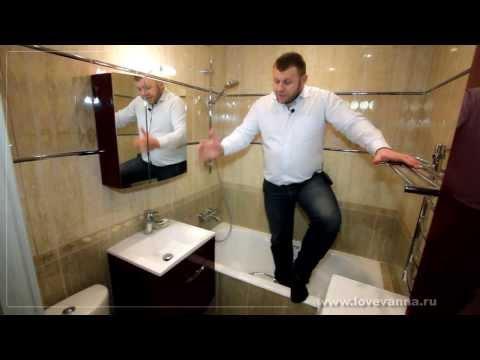 """117 Ремонт ванной в """"хрущевке"""". Замшина 9"""