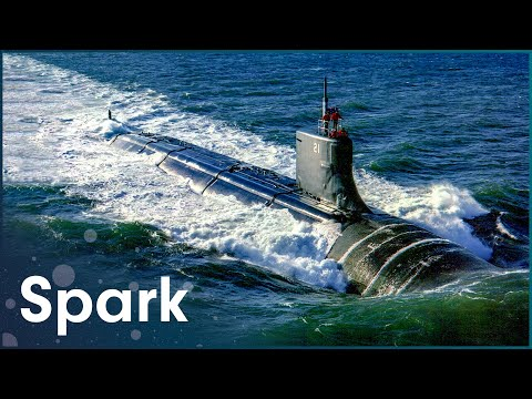What's Inside This Nuclear Submarine? | Super Structures | Spark