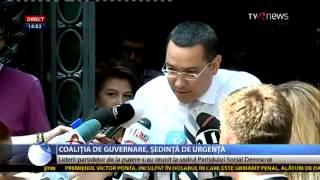 Reacţie nervoasă a lui Victor Ponta, după întrebarea unui reporter TVR