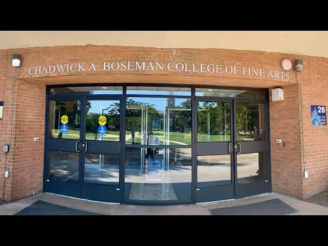 Chadwick A. Boseman College of Fine Arts Installation