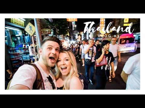 Exploring Bangkok's Chinatown! Yaowarat Rd  Vlog 03