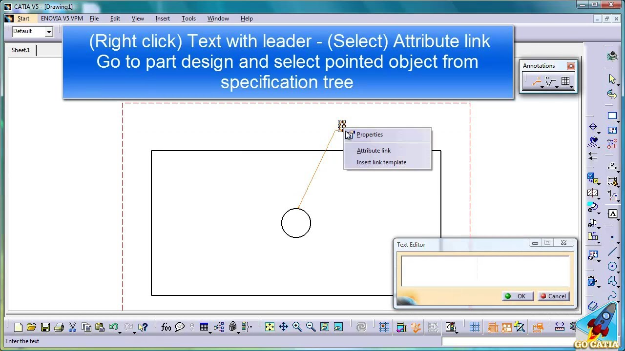catia v5 drafting tutorial pdf
