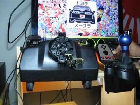 logitech g27 steering wheel mod part 1 youtube. Black Bedroom Furniture Sets. Home Design Ideas