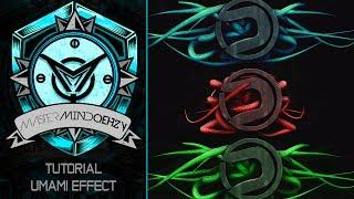 Tutorial:  C4D Umami Effect by Qehzy
