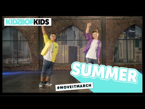 KIDZ BOP Kids  Summer #MoveItMarch