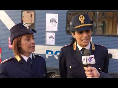 Corsa Rosa 2017 - Camper della Polizia