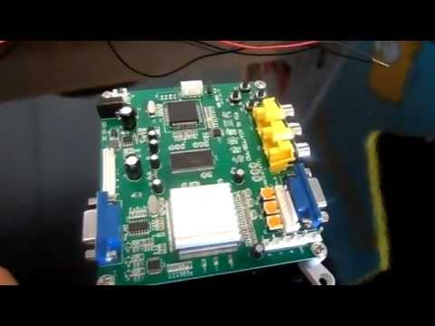 Arcade CGA to VGA Monitor Convertor  YouTube