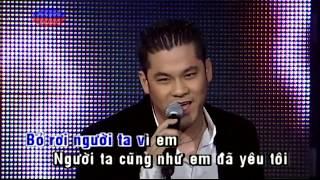 Karaoke Em va Co Ay Anh Phai Lam Sao - Le Thiên Ân (Beat & Vocal)