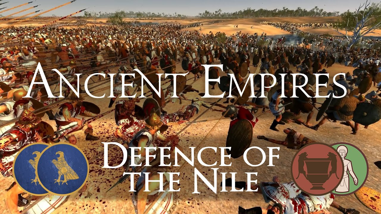 defence of the nile ancient empires mod gameplay total war
