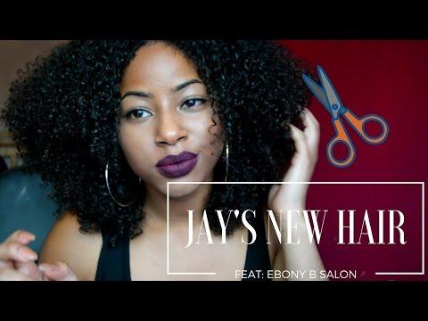 Jay's NEW NEW Hair: Ebony B Salon experience