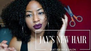 Jay's NEW NEW Hair: Ebony B Salon experience | CURLTUREUK