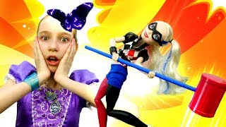 Леди Баг спасает Супер Кота. Шоу Принцесса София: новые приключения.