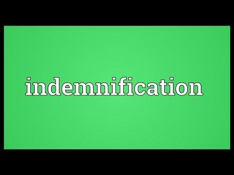 Header of indemnification