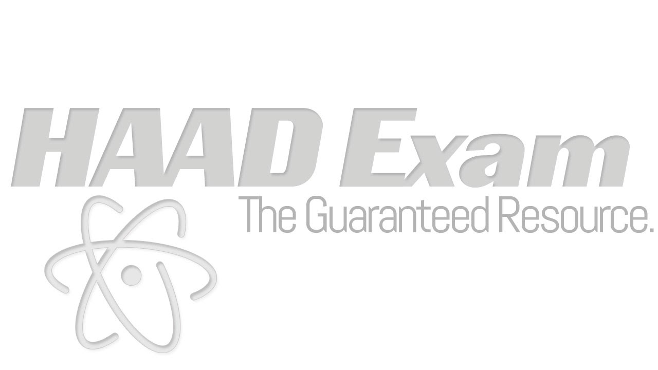 Practice HAAD Exam