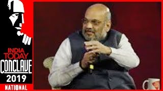 Is Opposition Accusing BJP Of Orchestrating Pulwama, asks Amit Shah | India Today Conclave 2019