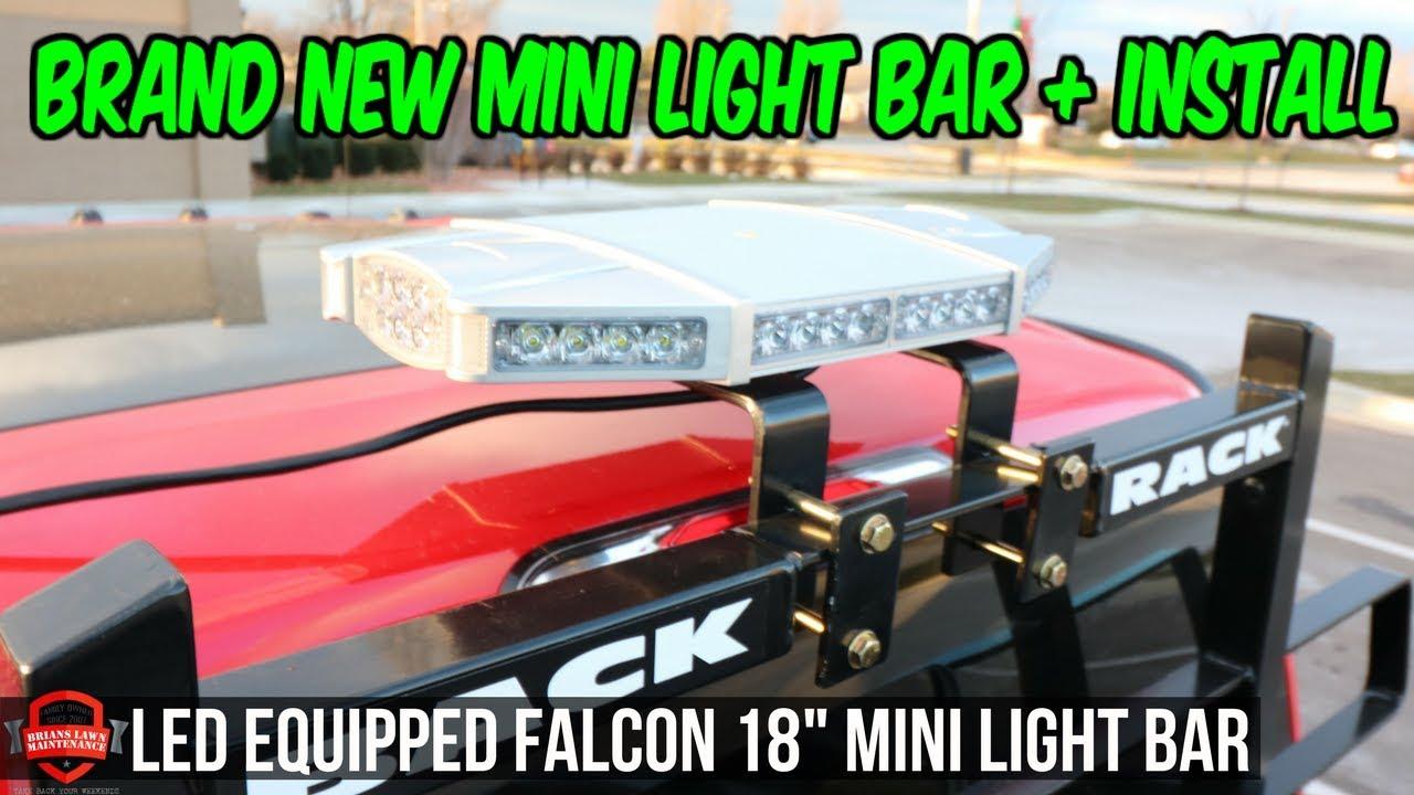 Installing The New Light Bar - Falcon 18\