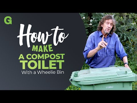 How to Make a Compost Toilet with a Wheelie Bin