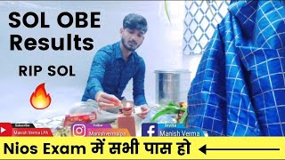 DU SOL & Nios Results || Exam Updates.