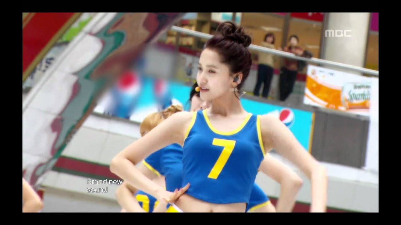 Girls' Generation - OH!, 소녀시대 - 오!, Music Core 20100306 #1