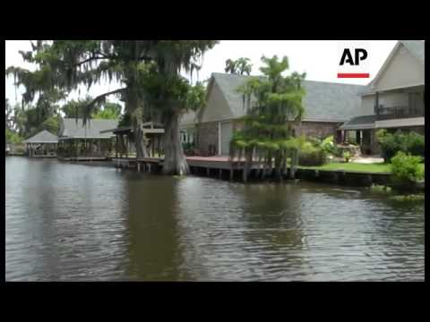 Almost A Year After A Salt Cavern Collapsed Near A Scenic South Louisiana Bayou, The Sinkhole Has Gr