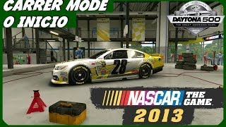 Nascar the game 2013 : O INICIO Modo Carreira PT-BR  (Daytona 500)