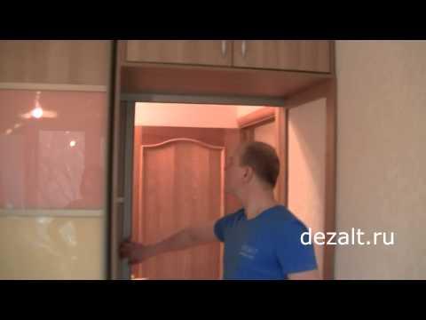 Шкаф-купе который делит комнату
