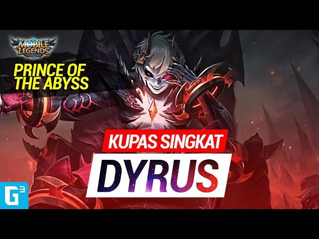 DYRUS SI FIGHTER  GALAK TERBARU - Kupas Singkat   Mobile Legends