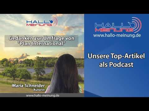 """Podcast: """"Gedanken zur Umfrage von """"Plan International"""" von Maria Schneider"""